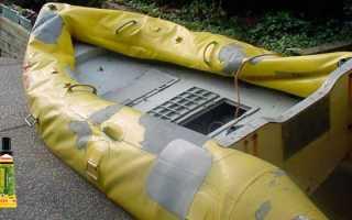 Чем клеить резиновую лодку