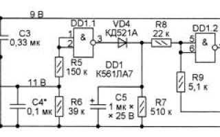Светозвуковой сигнализатор