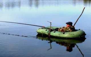 Удочка для лодки