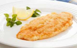 Рыбное филе в кляре рецепт