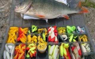 Резиновые рыбки для рыбалки