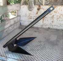 Самодельный якорь для надувной лодки