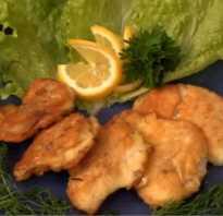 Приготовление рыбы в кляре на сковороде