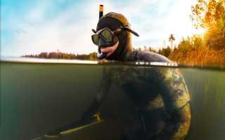 Подводная охота с аквалангом