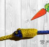 Узел для шок лидера морковка видео