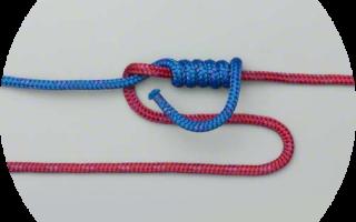 Узлы для плетеного шнура