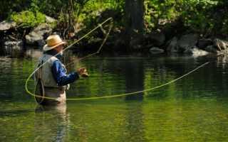 Рыбалка нахлыстом видео