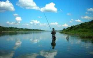 Ока рыбалка
