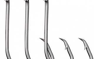 Размеры рыболовных крючков по номерам