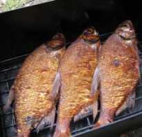 Сколько коптить рыбу в коптильне горячего копчения