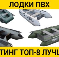 Сравнение лодок