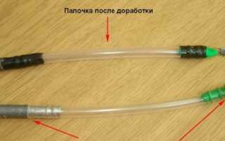 Тирольская палочка своими руками