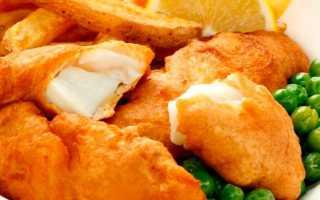 Тесто кляр для рыбы