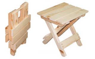 Самодельный раскладной стул