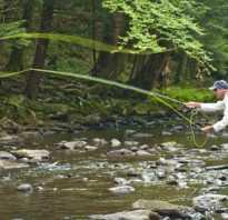 Рыбалка нахлыстом для начинающих видео
