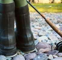 Сапоги для рыбалки летние
