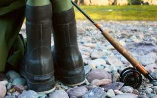 Сапоги рыболовные летние
