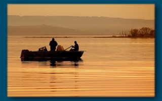 Рыбалка в низовьях волги