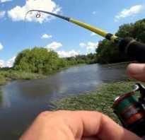 Рыбалка на спиннинг для начинающих видео