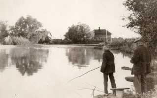 Поймал рыбу на конец