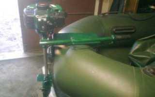 Самодельный лодочный мотор