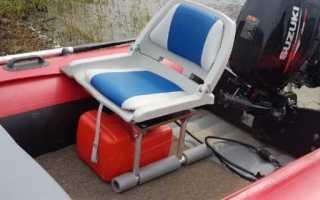 Сиденье для лодки пвх со спинкой